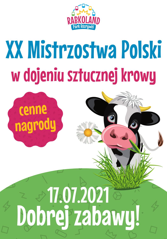 Rabkoland Mistrzostwa Polski w dojeniu sztucznej krowy